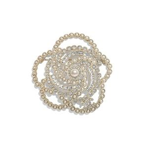 New 2019 Authentic CHANEL Iconic Camellia Brooch